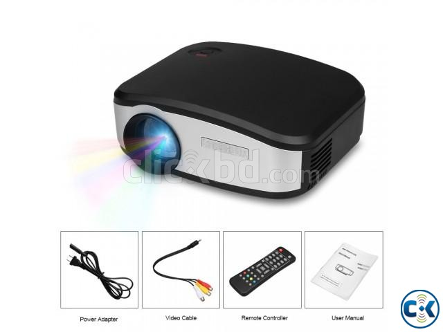 Cheerlux C6 Mini 1200 Lumens Multifunction LCD Projector | ClickBD large image 0