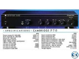 CAMBRIDGE AUDIO STEREO AMPLIFIER UK