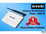 Tenda N4 Wifi Router