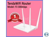 Tenda F3 Wifi Router
