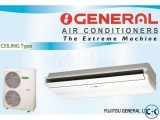Small image 1 of 5 for General 4.5 Ton Ceiling Type Split | ClickBD