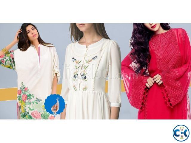 Pohela Boishakh Designer Kurti Collection By Shop For SHE | ClickBD large image 0