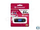 Transcend JetFlash 790 Black Pen Drive