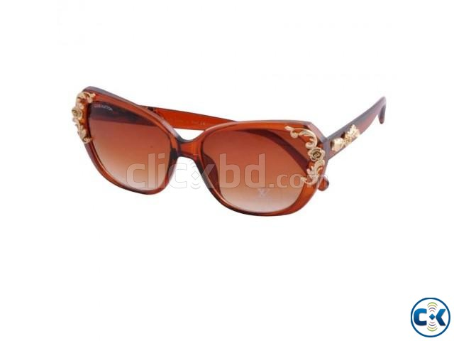 Ladies Brown Shade Sunglasses | ClickBD large image 0