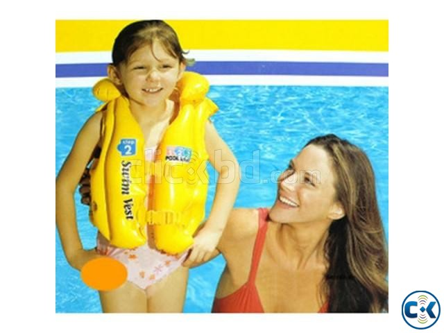 Inflatable Life Jacket For Kids | ClickBD large image 0