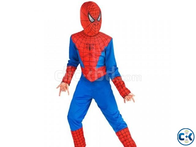 spiderman man dress for kid | ClickBD large image 0