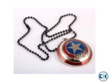Beautiful Superman Captain America Locket With Chain