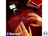 Wireless Bluetooth Laser Keyboard Code 031