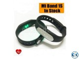 Original Xiaomi Mi Band 1S Heart Rate Wristband With LED
