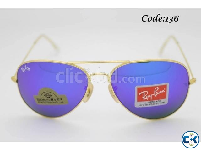 Stylish Color Men s Ray Ban Sunglass Code 136 | ClickBD large image 0