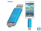 New OTG Pen drive 8GB with mobile USB. Code 139