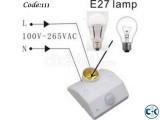 Automatic Motion Light on-off Sensor Code 111