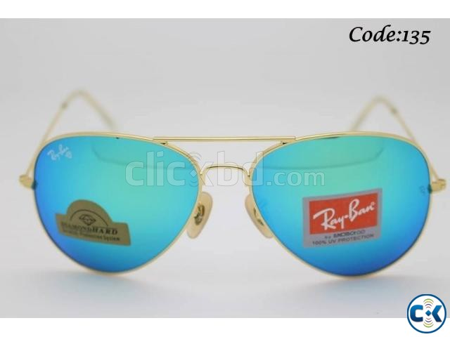 Stylish Color Men s Ray Ban Sunglass Code 135 | ClickBD large image 0