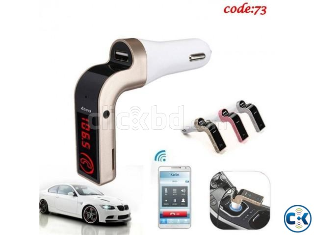 CAR G7 Bluetooth FM Transmitter MP3 Music Player -1pc | ClickBD large image 0
