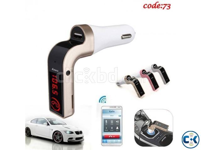 CAR G7 Bluetooth FM Transmitter MP3 Music Player -1pc | ClickBD large image 0