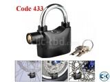 Bike Alarm Lock Double shackl