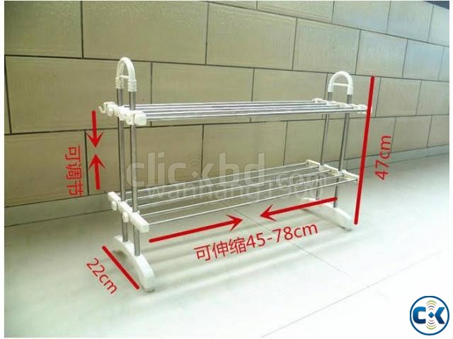 Stainless Steel Kitchen Shelf | ClickBD large image 0