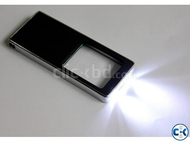 MultiFunction Led card magnifier | ClickBD large image 1