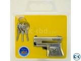 Pistol Shape Disk Lock