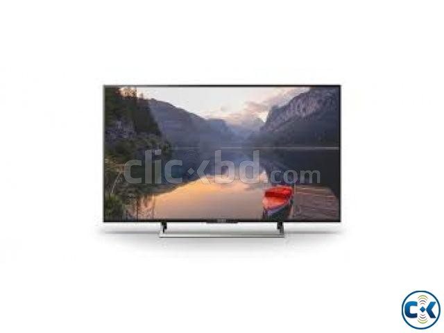 SONY BRAVIA 49 X8000E 4K WIFI ANDROID TV 2017 MODEL | ClickBD large image 0