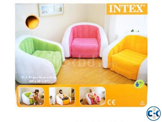 3 Pcs Cube Inflatable Sofa Set | ClickBD large image 0