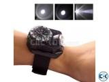 Flashlight Army Wrist Watch