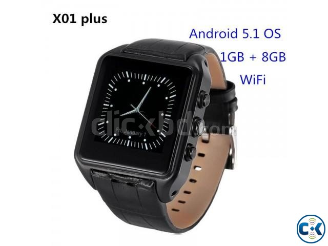 X01s Android Mobile Watch 1GB RAM 8GB ROM intact Box | ClickBD large image 0
