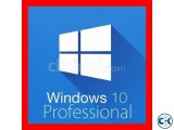 WINDOWS 10 PRO ORIGINAL 32 64 BIT LICENSE KEY CODE OEM