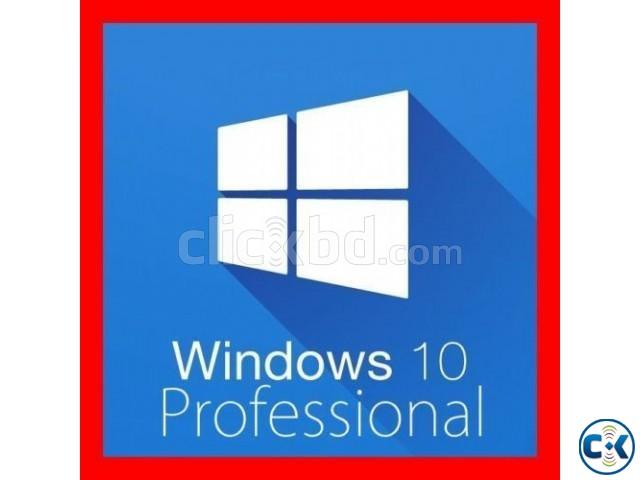 WINDOWS 10 PRO ORIGINAL 32 64 BIT LICENSE KEY CODE OEM | ClickBD large image 0