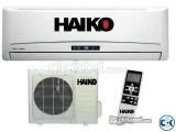 Brand New Split Type Haiko AC 1 Ton