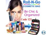 Original Roll n Go Cosmetic Organizer Bag Code 121