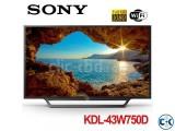 Sony TV Bravia W750D 49