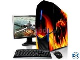 NEW Offer Core i3 PC 4GB 500GB 19 LED