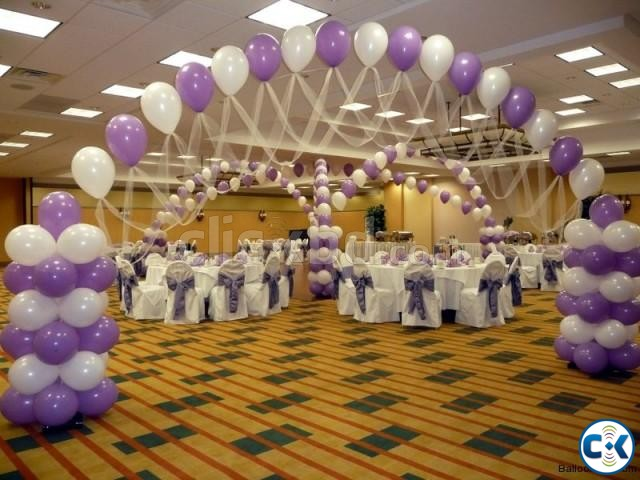 lilac lavender balloon arch dhaka | ClickBD large image 0