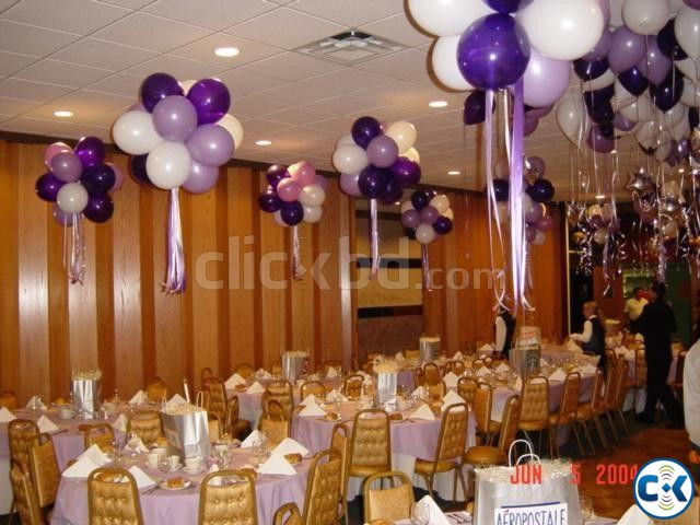 lilac lavender balloon arch dhaka | ClickBD large image 1
