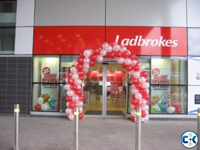 BALLOON party gate decoration | ClickBD large image 0