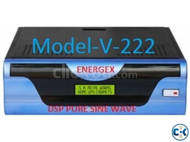 Energex Pure Sine Wave UPS IPS 850VA 5yrs WARRENTY | ClickBD large image 0