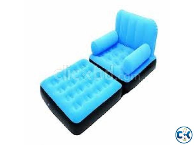 2 in 1 Single Arm Chair cum Sofa intact Box | ClickBD