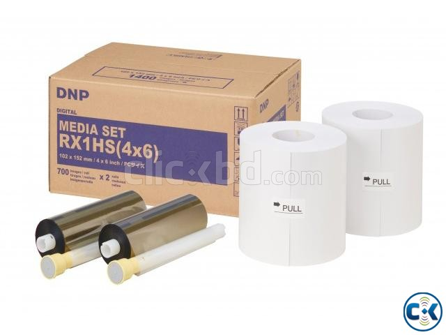DNP DS RX1 Digital Photo Printer 1 Roll Paper Robbon | ClickBD large image 1