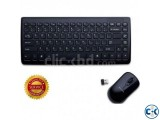 Wireless Keyboard Mouse Set