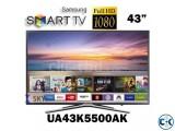 Samsung TV K5500 43 Inch Full HD WiFi Smart LED Television