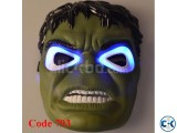 Hulk Mask With Led