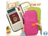Multifunction Fashion Passport Wallet Traveler Code 127
