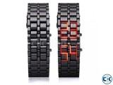Samurai LED Watch Red