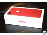 Apple I phone 7 Plus Red Silver 128gb 256 GB Intact