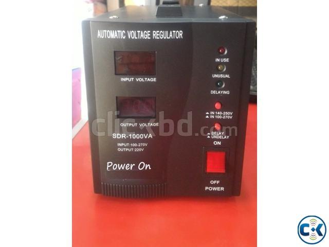 Power On Digital 1000va Stabilizer Digital mitter | ClickBD large image 0