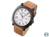 Curren Watch White