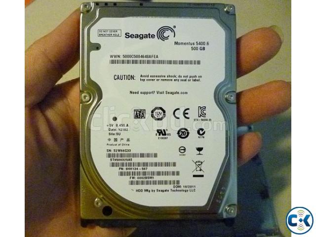 Laptop Hard Disk Segate 500 GB New   ClickBD large image 1
