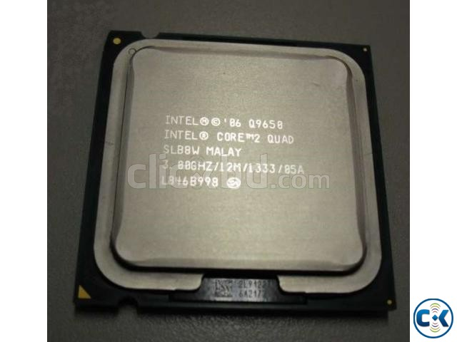 12 MB Cash Core 2 Quad Q9650 3.00GHz | ClickBD large image 0