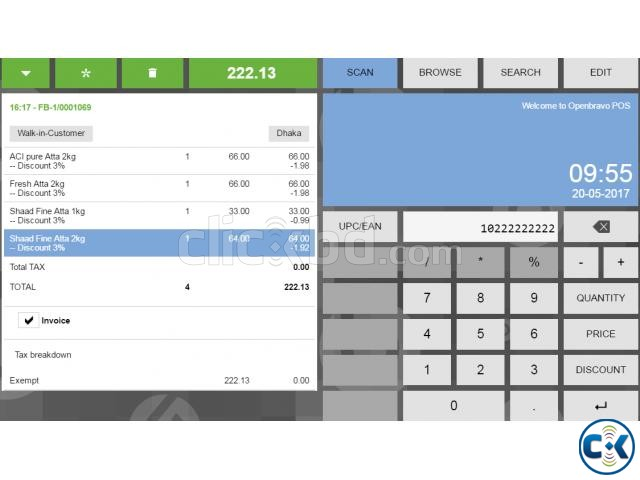 Restaurant Billing with Inventory and Accounting | ClickBD large image 4
